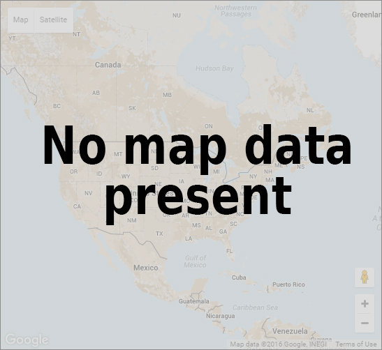 no map data found